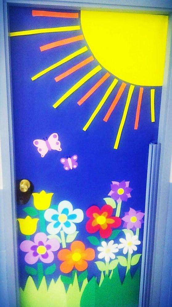 Primavera en 3 de primaria blog educativo del colegio for Puertas decoradas primavera