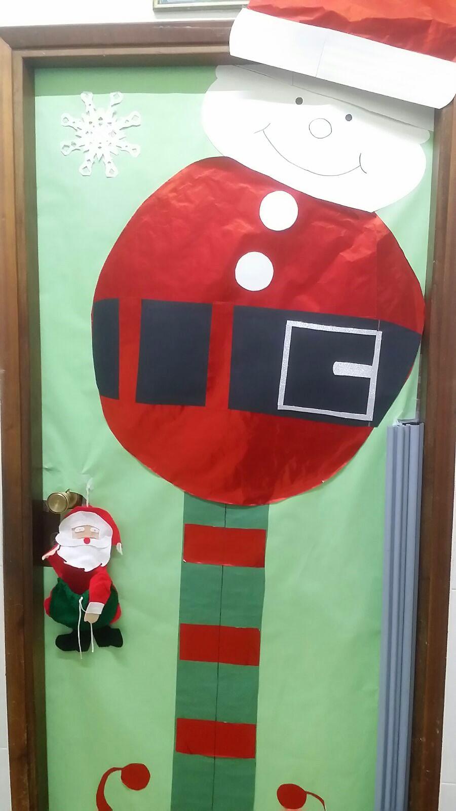 Decoraci Ef Bf Bdn De Navidad Colegio